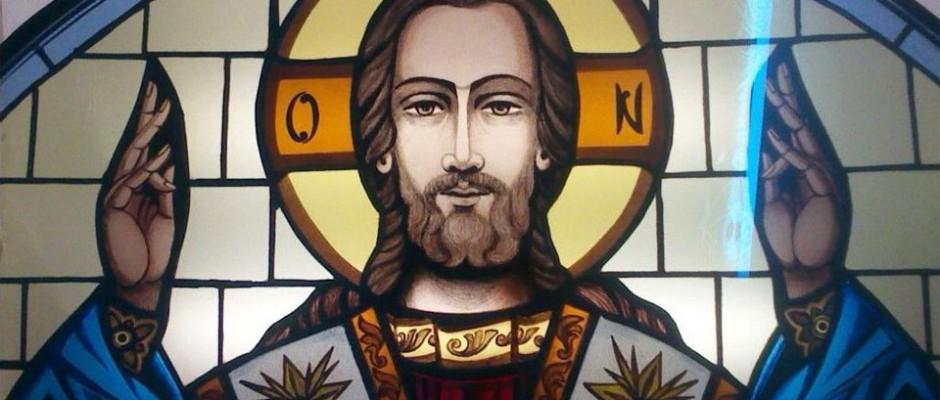 Vitraliu Mantuitorul Iisus Hristos