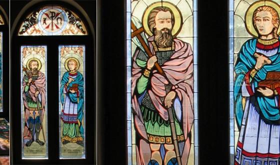 vitraliu-Sfintii-Mari-Mucenici-Mina-si-Pantelimon