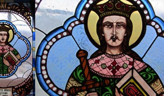 Vitralii Sfantul Voievod Stefan cel Mare